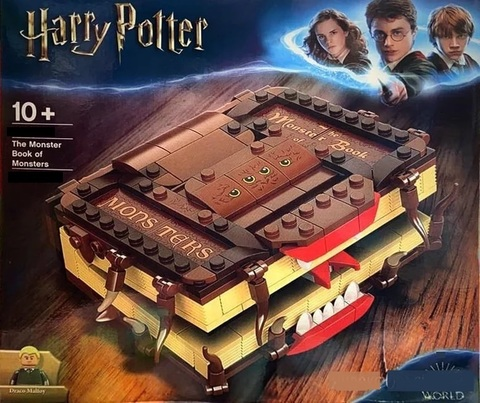 Конструктор Гарри Поттер Книга монстров М18, 326 дет.