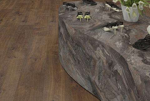 Пробковый пол Дуб Беннетт темний | EGGER cork+