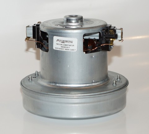 Двигатель пылесоса универсальный (VAC022UN) 1800W H-117мм., D-130мм.