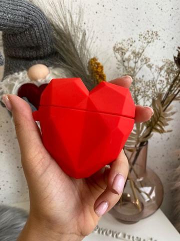 Чехол для AirPods toys /love red/