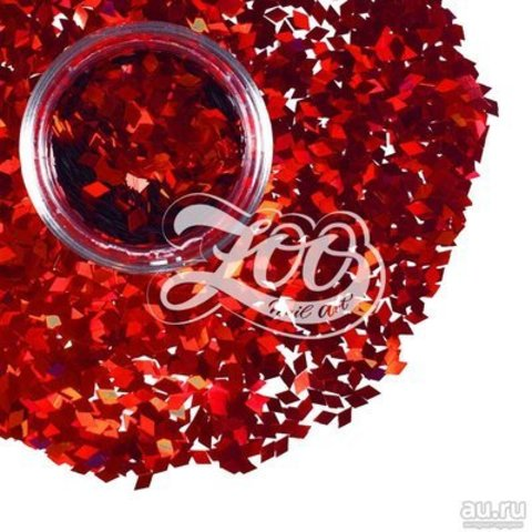 1149 Ромбики для дизайна Zoo (красные)