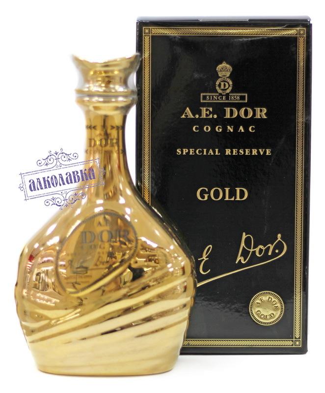 КОНЬЯК A.E.DOR Gold  0,7л  П/У