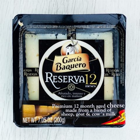 Сыр GARCIA BAQUERO Иберико Ресерва Аньехо 200 г