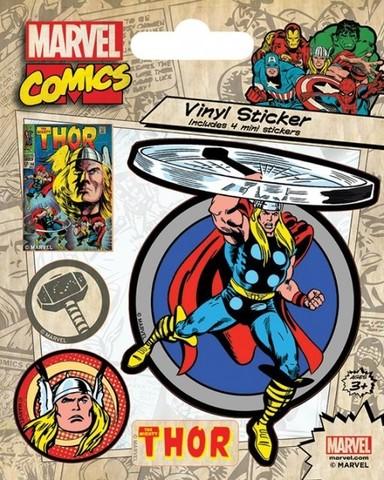 Набор стикеров Marvel Comics (Thor Retro)