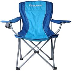 Кресло кемпинговое Kingcamp Arms Chair (84Х50Х96) blue - 2