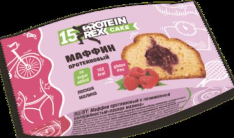 Маффин протеиновый Лесная малина 40г