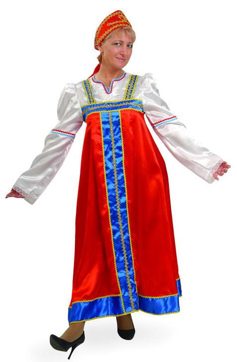 Карнавальный костюм взрослый Марья-искусница