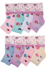 C275 носки детские (12шт), цветные