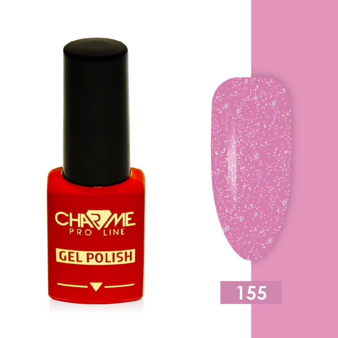 Гель-лак 155 - розовый сон Charme 10 мл