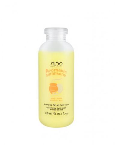 Шампунь для всех типов волос «Молоко и мед», 350 мл