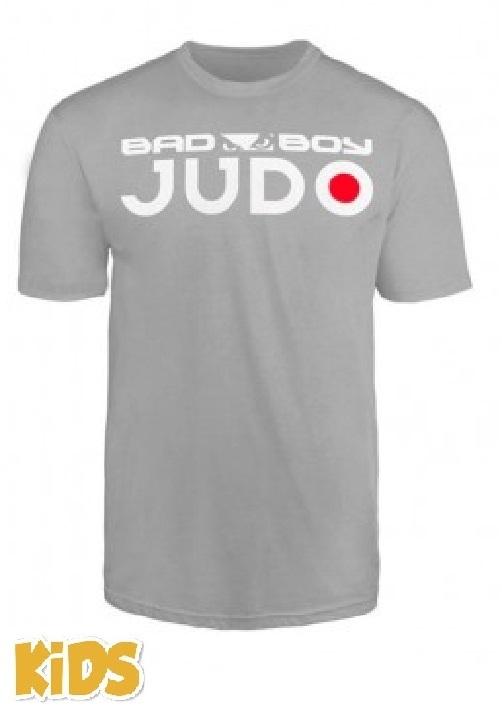 Детские футболки Футболка детская Bad Boy Judo Discipline Youth T-shirt Grey& 1.jpg
