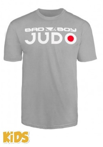Футболка детская Bad Boy Judo Discipline Youth T-shirt Grey&