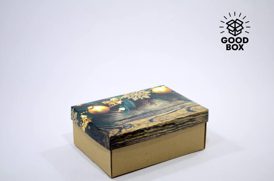 Новогодняя коробка под дерево купить в Казахстане