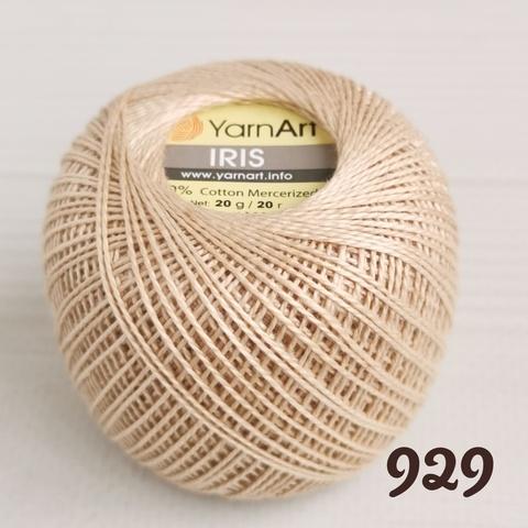 YARNART IRIS 929, Крем брюле