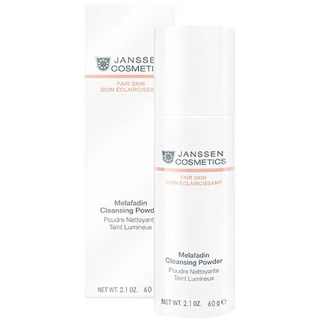 Janssen Fair Skin: Осветляющая очищающая пудра для лица (Melafadin Cleansing Powder)