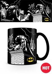 Кружка, меняющая картинку «Бэтмен (тени)»