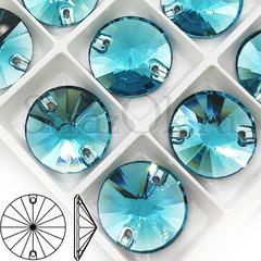 Купить пришивные стразы Aquamarine, Rivoli через Алиэкспресс
