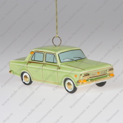Ёлочная фарфоровая игрушка Москвич 412