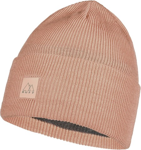 Шапка Buff Crossknit Hat Solid Pale Pink фото 1
