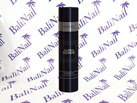 ALPHA HOMME Тонизирующий шампунь для волос с охлаждающим эффектом, 250 мл