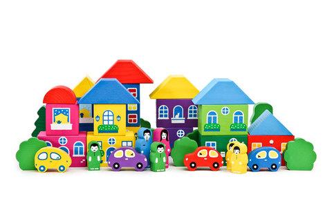 Конструктор «Цветной городок»