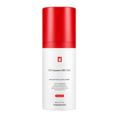 Лосьон TOSOWOONG SOS Intensive RED Clinic Ovalicin Skin Clear Lotion 80ml