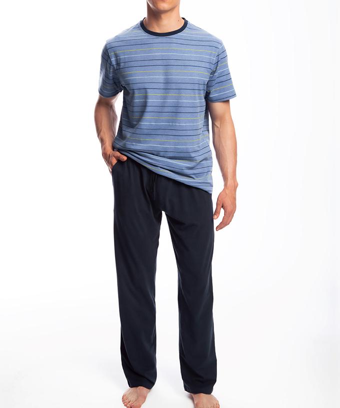 Пижама мужская с брюками NMP-336 100% хлопок