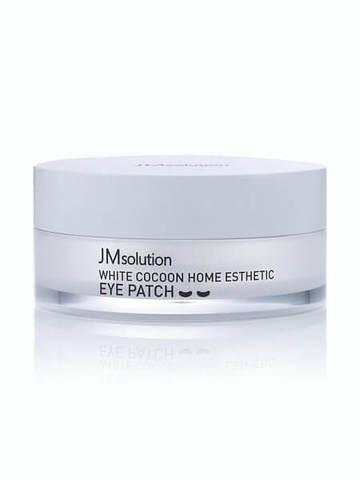 JM Solution Silky Cocoon Home Esthetic Eye Patch Гидрогелевые патчи с протеинами шёлка 60 шт