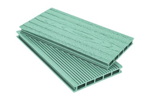 Террасная доска 160 мм Зеленая