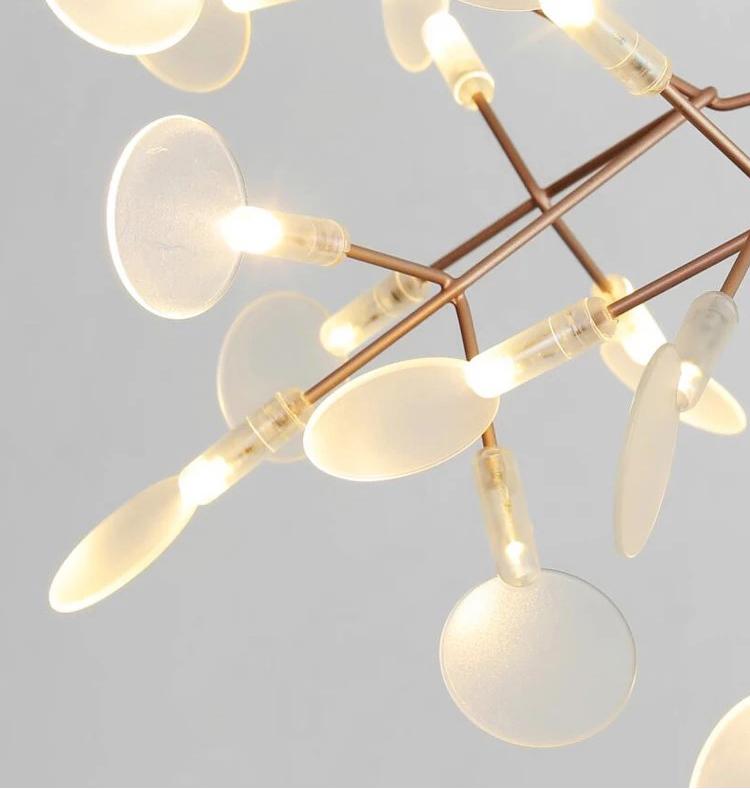 Подвесной светильник копия Heracleum  Big O by Moooi (медный, D210)