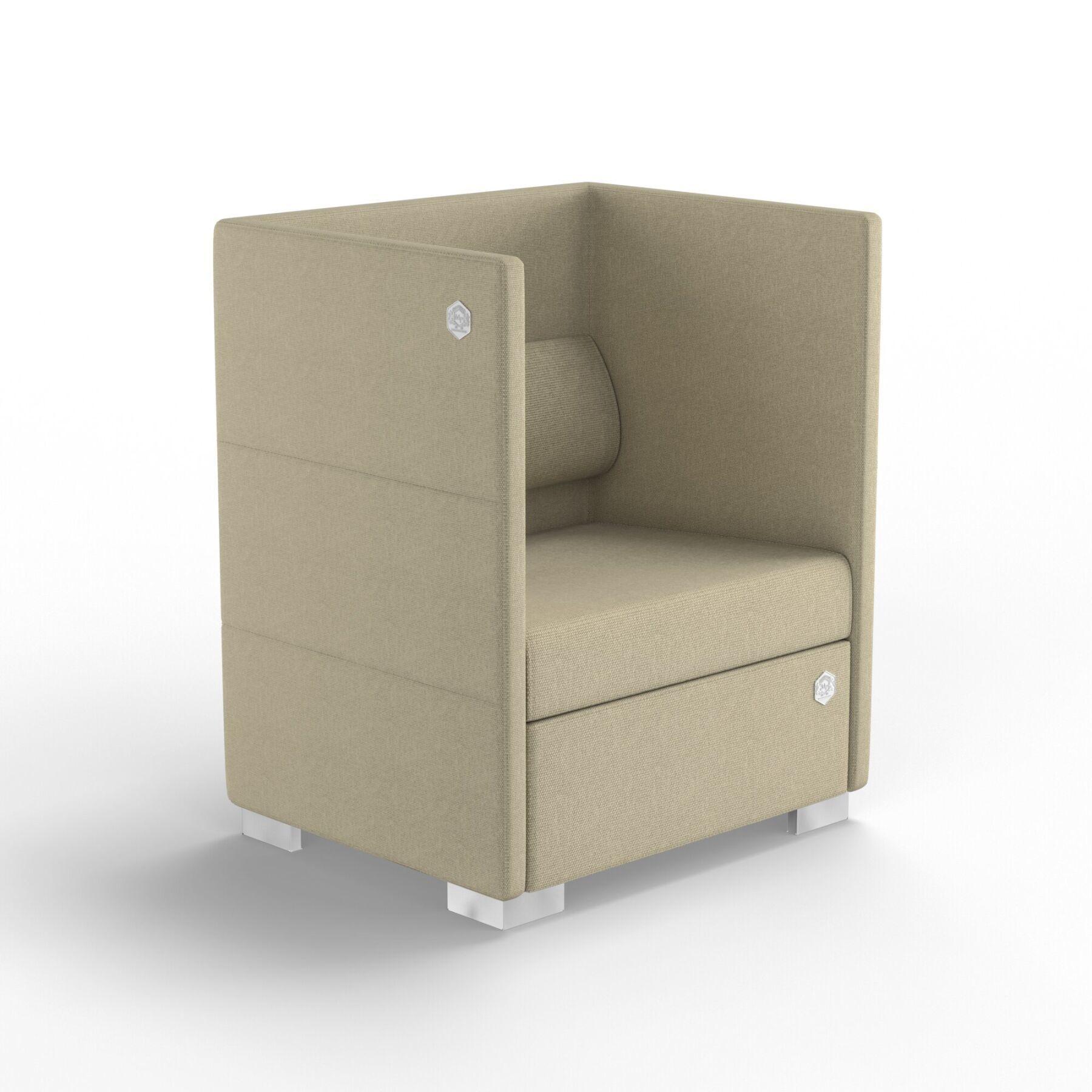 Мягкое кресло KULIK SYSTEM CONFERENCE Ткань 1