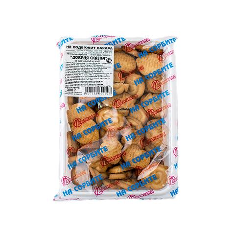 Печенье с пшен. отруб. на сорб,  Добрая Сказка 300гр