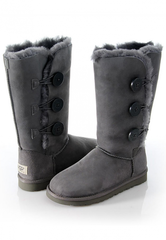 UGG Bailey Button Triplet Grey