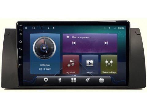Магнитола для BMW 5 E39/X5 E53 Android 10 4/64GB IPS DSP 4G модель CB2062TS10