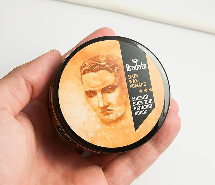 RAZ264 Мягкий воск для укладки волос средней фиксации, «Bradato» (100 мл) фото 06