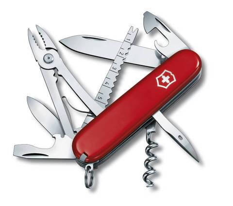 Нож Victorinox Angler 91 мм, красный