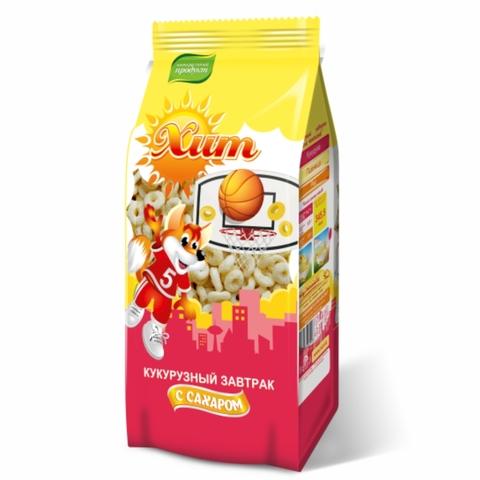 Готовый завтрак ХИТ Колечки Сахар 200 г КАЗАХСТАН