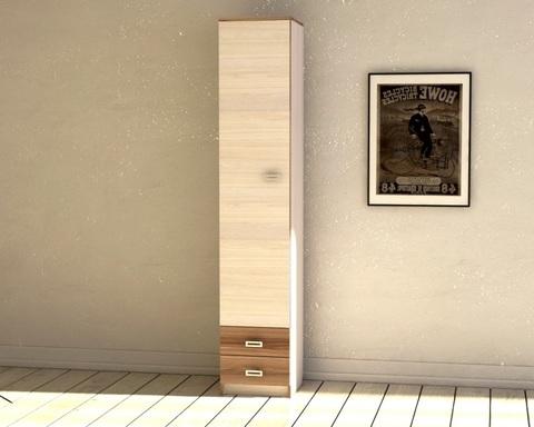 Шкаф КВИНС-4 /400*1900*423/ левый