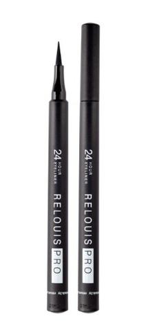 RELOUIS Подводка-фломастер для глаз стойкая RELOUIS PRO 24 Hour Eyeliner