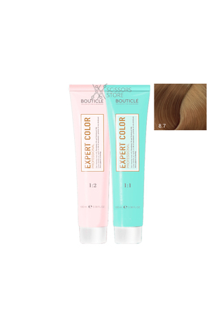 Expert Color Hair Color Cream 8/7 капучино 100 мл