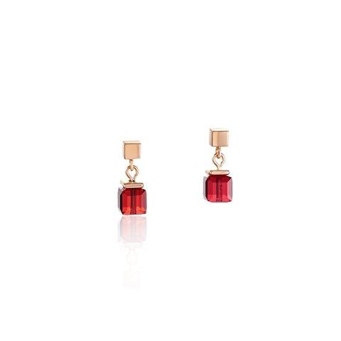 Серьги Red 4996/21-0300 цвет красный, золотой