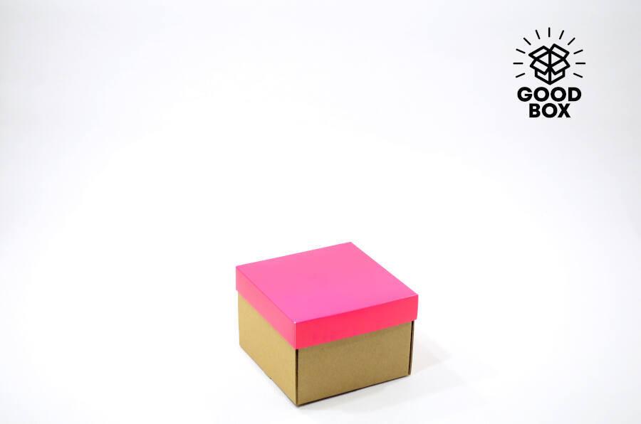 Розовая подарочная коробка купить оптом