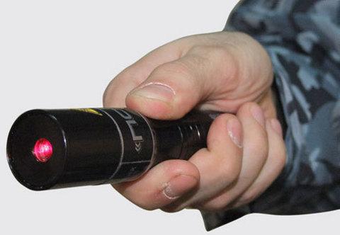 Фонарь специальный лазерный