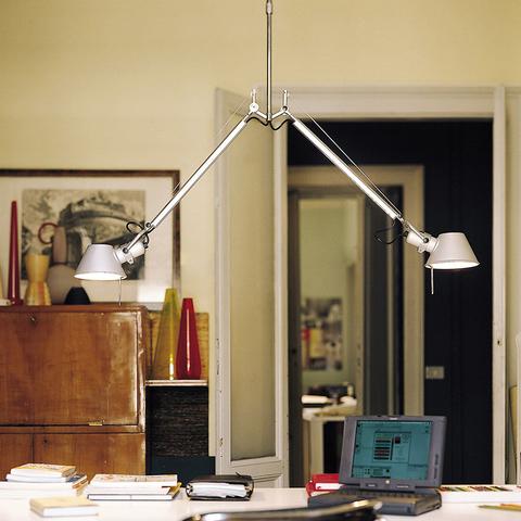 Подвесной светильник Artemide Tolomeo due bracci