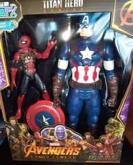 Капитан Америка и Человек Паук