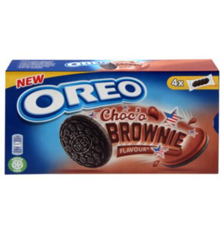 Oreo Choco brownie Орео шоколадный брауни в коробке 176 гр