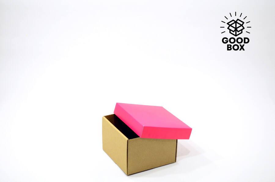 Розовая подарочная коробка купить недорого