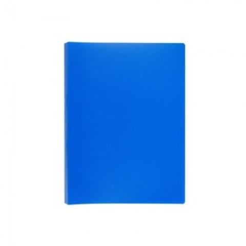 Папка с зажимом Attache Economy A4 0.4 мм синяя (до 150 листов)