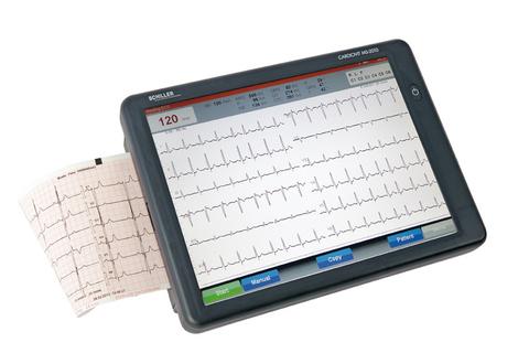 Электрокардиограф CARDIOVIT MS-2010 с цветным 10 сенсорным экраном Шиллер