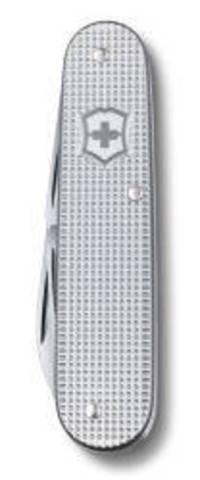 Нож Victorinox Cadet, 84 мм, 8 функций, алюминиевая рукоять, серебристый